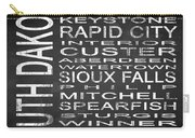 Subway South Dakota State Square Carry-all Pouch