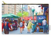 Subway Station Entrance 3 Carry-all Pouch