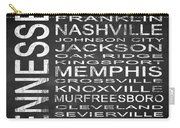 Subway Tennessee State Square Carry-all Pouch