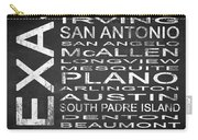 Subway Texas State Square Carry-all Pouch