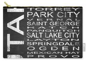 Subway Utah State Square Carry-all Pouch