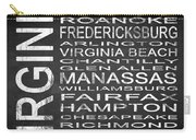 Subway Virginia State Square Carry-all Pouch