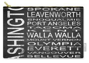 Subway Washington State Square Carry-all Pouch