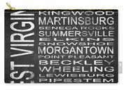 Subway West Virginia State Square Carry-all Pouch