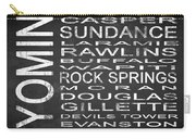 Subway Wyoming State Square Carry-all Pouch