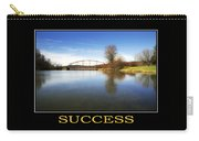 Success Inspirational Motivational Poster Art Carry-all Pouch