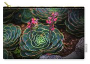 Succulent Flowers Carry-all Pouch