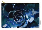 Succulent In Blue Carry-all Pouch
