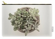 Succulent Plant From The Top Carry-all Pouch