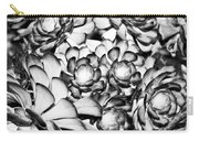 Succulents Monochrome Carry-all Pouch