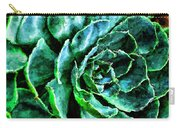 succulents Rutgers University Gardens Carry-all Pouch