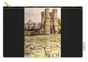 Suffolk Sheep Grazing In Sussex Carry-all Pouch