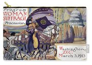 Suffragette Parade, 1913 Carry-all Pouch