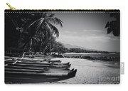 Sugar Beach Hawaiian Outrigger Canoes Kihei Maui Hawaii  Carry-all Pouch