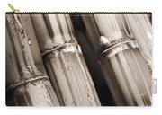 Sugar Cane - Sepia Carry-all Pouch