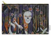 Sugar Skull Forest Carry-all Pouch