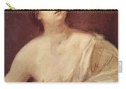 Suicide Of Lucretia 1642 Carry-all Pouch