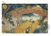 Suihiro Bridge In Moonlight Carry-all Pouch