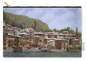 Sul Lago Di Como Carry-all Pouch by Guido Borelli