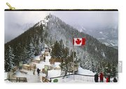 Sulphur Mountain In Banff National Park In The Canadian Rocky Mountains Carry-all Pouch