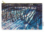 Sumac Snow Shadows Carry-all Pouch