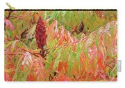 Sumac Tree Autumn Reflections Carry-all Pouch