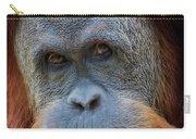 Sumatra Orangutan Portrait Carry-all Pouch