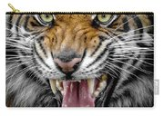 Sumatran Tiger Snarl Carry-all Pouch