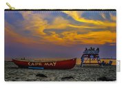 Summer Sunset In Cape May Nj Carry-all Pouch