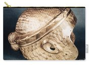 Sumerian Gold Helmet Carry-all Pouch