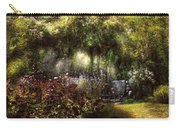 Summer - Landscape - Eve's Garden Carry-all Pouch by Mike Savad