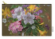 Summer Arrangement In A Glass Vase Carry-all Pouch