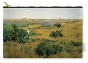 Summer At Shinnecock Hills Carry-all Pouch by William Merritt Chase