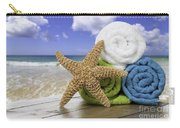 Summer Beach Towels Carry-all Pouch by Amanda Elwell