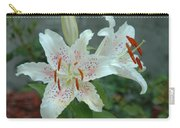 White Tiger Lilies  Carry-all Pouch