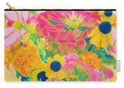 Summer Blossoms - Pop Art Carry-all Pouch