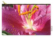 Summer Botanical Garden Art Pink Calla Lily Flower Baslee Troutman Carry-all Pouch