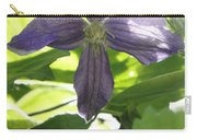Summer Clematis In Light Shade Carry-all Pouch