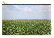 Summer Corn And Blue Skies In Maine  Carry-all Pouch