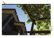 Summer Courtyard - Decorated Eaves And Grape Arbors In The Sunshine Carry-all Pouch