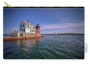 Summer Day At Rockland Breakwater Carry-all Pouch