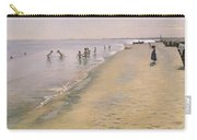 Summer Day At The South Beach Of Skagen Carry-all Pouch