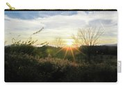 Summer Day Going Into Evening.  Carry-all Pouch