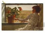 Summer Evening Carry-all Pouch by Childe Hassam