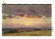 Summer Evening With Storm Clouds Carry-all Pouch