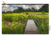 Summer Field Of Wildflowers Carry-all Pouch