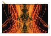 10658 Summer Fire Mask 58 - Dance Of The Fire Queen Carry-all Pouch