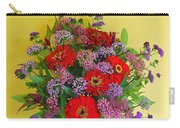 Summer Flower Bouquet Carry-all Pouch