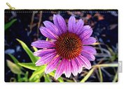 Summer Flower In Fading Light Carry-all Pouch