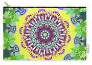 Summer Flower Medallion Carry-all Pouch
